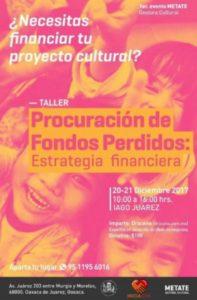 Financiamiento de proyectos culturales